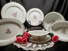 Noritake China Roanne #5794 Dinnerware & Hostess Serving Set - 14 Pieces