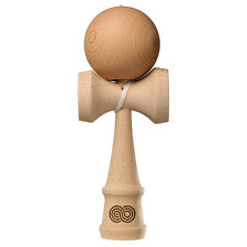 Natural Beech Kaizen Kendama | Free Stickers, String, & Pocket Guide