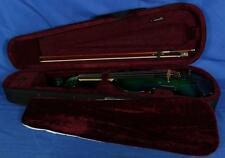 Mathias Thoma Model 100EL Electric Violin Outfit w/ Barcus Berry System Green