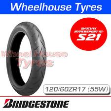 120/60ZR17 (55W) Bridgestone S21 T/L Front