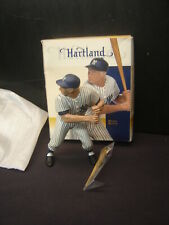 2002 Mickey Mantle Cooperstown Hartland Statue  New York Yankees In Box VGC