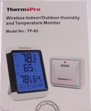 ThermoPro Wireless Indoor Outdoor Humidity & Temperature Monitor