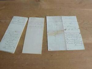 3 Idaho City Idaho Territory 1869  Homestead Certificate & Deed Papers