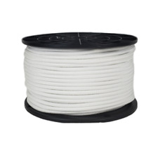 Polyester Bungee Shock Cord 316 Marine Grade White Made In Us