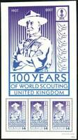Saint Vincent Grenadines-Bequia Stamp - Scouting centenary Stamp - NH