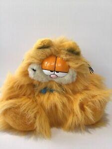 Vintage Dakin 1981 Garfield Soft Toy Plush Long Hair Blown Dry Rare Reg No 118