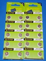 20  Pc's Watch Batteries  AG7  395  LR927 FREE SHIPPING Expires 2021