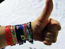 3 x Wristband Sample,Quality Tester - Wedfest, Events, Wedding ,Birthday Party,