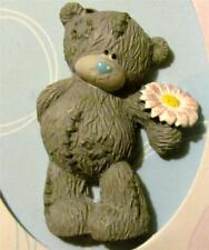 New Tatty Teddy Me to You Bear with Pink & White Flower Pin FREE SHIPPING