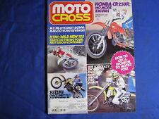 MOTOCROSS magazine-FEB 1984-KTM 125-CR250R-TRANS CAL-SUPERBIKES-TEXAS TOP 10