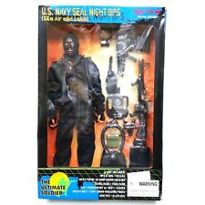 1998 The Ultimate Soldier US NAVY SEAL NIGHT Ops 12 inch Action Figure
