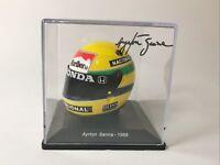 Calcas casco Ayrton Senna escala 1:5 de Spark