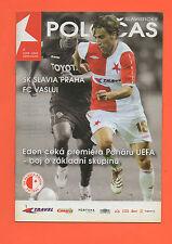 Orig.PRG    UEFA Cup   2008/09     SLAVIA PRAG - FC VASLUI  !!  SELTEN