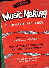 1 Year Band Course MUSIC MAKING in Elementary Primary School TEACHER'S HANDBOOK