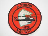 Knights Alpha Troop 7th /17th Air Cavalry Regiment Vietnam War Patch