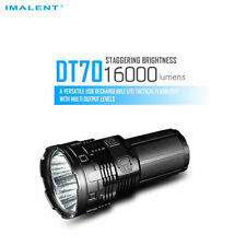 IMALENT DT70 16000LM LED USB Rechargeable Tactical Flashlight Torch +4 Batteries