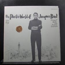 Jacques Brel - The Poetic World Of Jacques Brel LP VG+ PCC 620 Vinyl Record