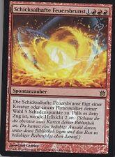 MAGIC Schicksalhafte Feuerbrunst FOIL PROMO deutsch Fated Conflagration