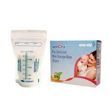 Pre-Sterilised  Breast Milk Storage Bags (Pack of 30 bags)