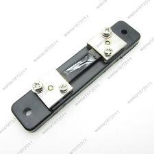 Dc 50a 75mv Current Shunt Resistor Fl 2 For Panel Digital And Analog Amp Meter