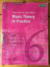 Music Theory in Practice, Grade 6 ABRSM by Webb, Julian Paperback Unused