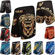 VELO MMA Shorts Training Gym Kick Boxing Sports Muay Thai Cage Fighting Short