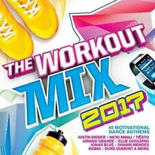 The Workout Mix 2017 - Various Artists  (2CD NEW)