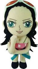 "NEW One Piece Nico Robin 8"" Stuffed Plush Doll By GE Official Licensed GE52724"