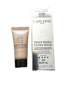 Lancome Teint Idole Ultra Wear SPF15 220 Buff(C) Foundation Travel Size 5ml New
