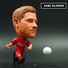 Statuina XABI ALONSO #14 FC LIVERPOOL doll muneca football action figures 7 cm