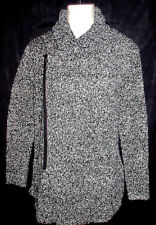 MENS 21MEN FOREVER 21 SWEATER ZIPPERED LONG CARDIGAN SIZE S