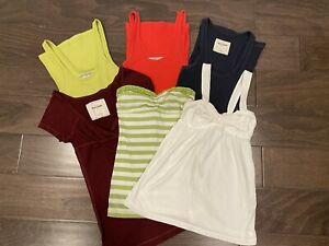 Lot Abercrombie Kids Assorted Short Sleeve Tops Shirts Tees Blouses Girls Size S