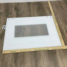 Outer White Glass Panel Kitchenaid Whirlpool OEM Part WP9759639 9759639 4450700