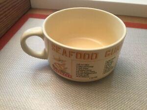 Vintage Recipes Ceramic Gumbo Bowl - SEAFOOD GUMBO