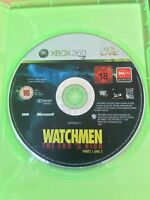 WATCHMEN THE END IS NIGH PARTS 1 & 2 XBOX 360 AUS PAL VGC CASE & DISC ONLY