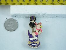 HARD ROCK CAFE PIN ORLANDO CLOCK GUITAR SERIES FENDER STRAT/ POLE DANCER LE 200