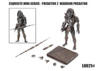 Hiya Toys Exquisite Mini Predator 2 Warrior Predator 1/18 Action Figure IN STOCK