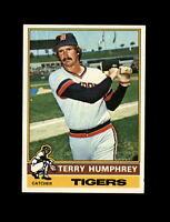 1976 Topps Baseball #552 Terry Humphrey (Tigers) NM+