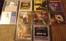 Lot of 10 Assorted POP / ROCK CDs - Phil Collins  Cher  Steve Miller Band  +
