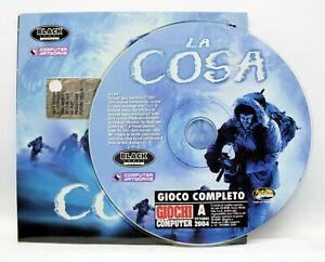 LA COSA EDIZIONE ITALIANA GIOCO PC CD ROM EDITORIALE VBC 74798