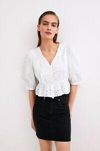cherrie424: NWT Zara Denim Skirt