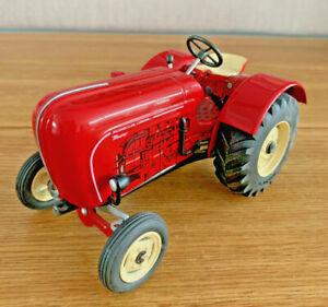 Blech Porsche Traktor Schlepper Master 419 Modell 1:25 KOVAP