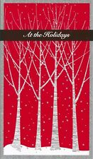 American Greetings Christmas Card/Gift Holder: Thinking of You At the Holidays