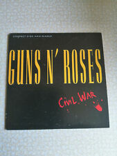 GUNS N' ROSES - CIVIL WAR - CD SINGLE 4 TRACKS CARD SLEEV - BRAND NEW
