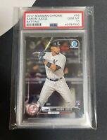 2017 Bowman Chrome Aaron Judge Rookie Card RC #56 PSA 10 GEM MINT Yankees