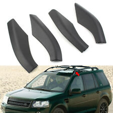 Roof Rack Cover Rail End Shell Cap Replacement For Land Rover Freelander 2 06-14