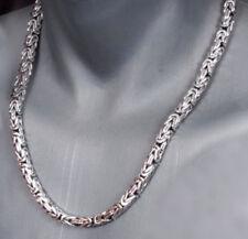 NEU 6 mm Königskette Halskette echt Silber 925er Sterling 60 cm Herren 101 g