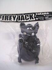 Black Firey Jack Original Soft Vinyl Elephant Toy CATANA JAPAN Headlock Studio