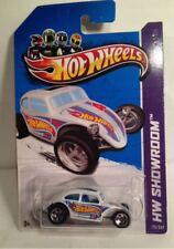 Hot Wheels HW Showroom Custom Volkswagen Beetle Kmart Exclusive White 176.247