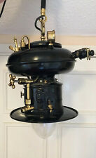 Antique 'Petromax' Market Stall Gas Lantern (Converted To Electricity)